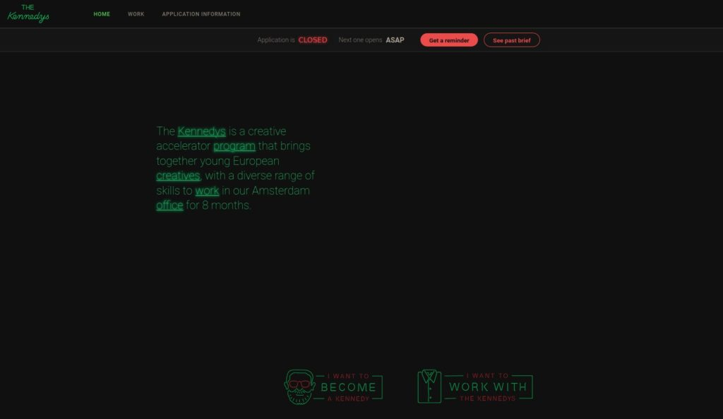 diseño web tendencia dark theme 1