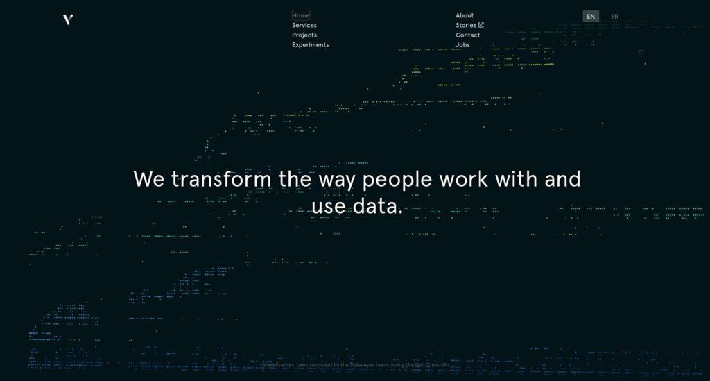 diseño web tendencia visualización de datos 1