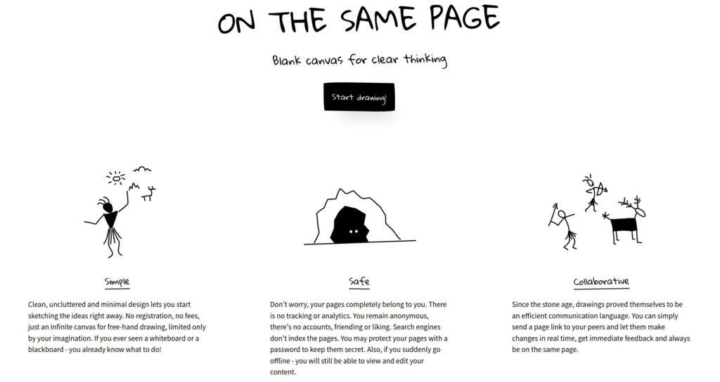 como hacer un buen diseño web. simplicidad